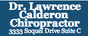 Dr Lawrence Calderon Chiropractor